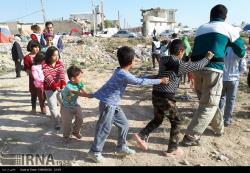 کودکان زلزله