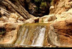 منطقه شیرین آب در امتداد کوه تاراز
