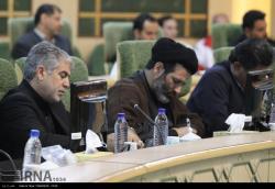 نشست مدیریت بحران استان با حضور لاریجانی