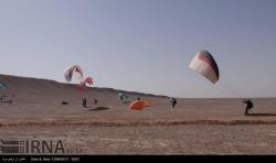 جشنواره پاییزه ورزش های هوایی در یزد