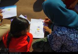 حمایتهای روانی از کودکان مناطق روستایی زلزله زده سرپل ذهاب