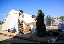 امداد رسانی به روستای دوله خشکه آقایی