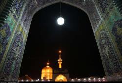 آیین خطبه خوانی شب شهادت حضرت امام رضا (ع) در مشهد