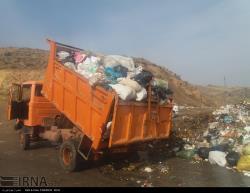 خلخال در همسایگی زباله ها