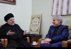 دیدار نوبخت با آیات سبحانی و نوری همدانی ، بازدید ازموزه حجت الاسلام شهرستانی