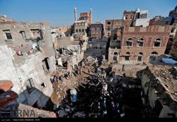 حمله هوایی رژیم سعودی به یمن پایتخت صنعا