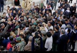 بازدید رئیس مجلس از مناطق زلزله زده استان کرمانشاه