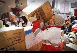 کرج/ادامه جمع آوری کمک های مردمی به مناطق زلزله زده کرمانشاه