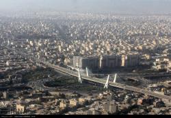 تصاویر هوایی از آلودگی هوای مشهد