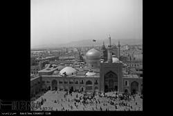 تصاویر آرشیوی ایرنا از بارگاه امام رضا ( ع ) در دهه 60