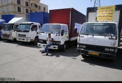 ارسال کمکهای مردمی استان البرز به مناطق سیل زده