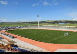ورزشگاه 6 هزار نفری سلماس پس از 10 سال افتتاح شد