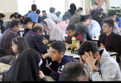 مسابقات شطرنج جام نوروز در قزوین