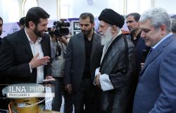 بازدید رهبر انقلاب از نمایشگاه شرکتهای دانشبنیان و فناوریهای برتر (ایران ساخت)